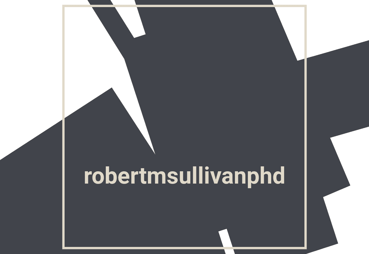 robert m sullivan phd